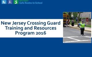2016 Crossing Guard Report