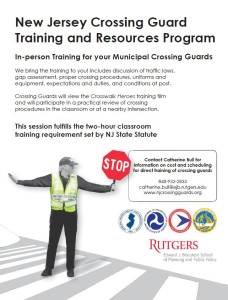In-person training flyer image